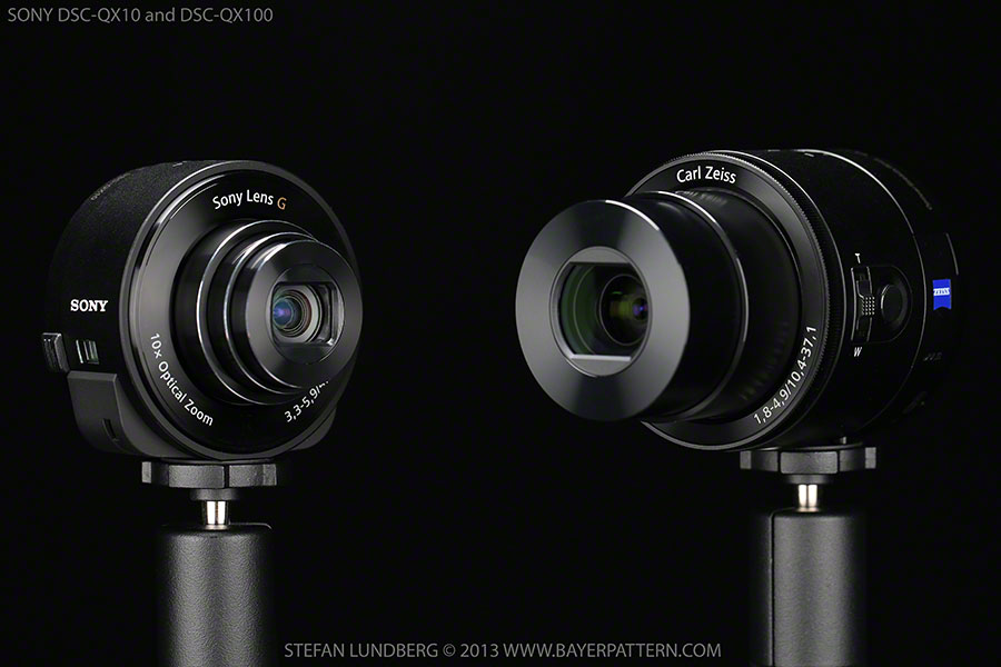 Sony QX100 and QX10