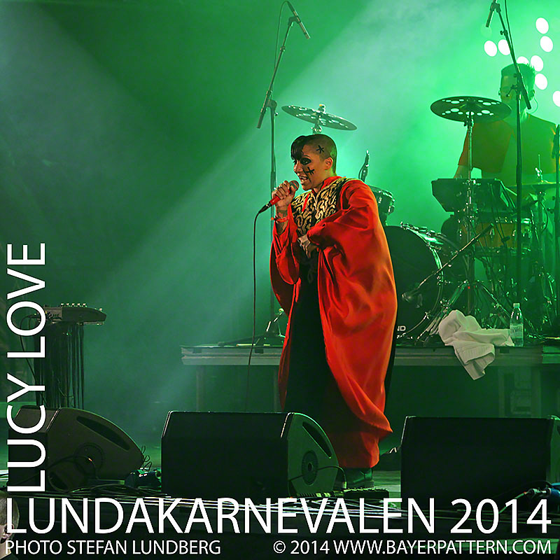 Lucy Love at Lundakarnevalen 2014