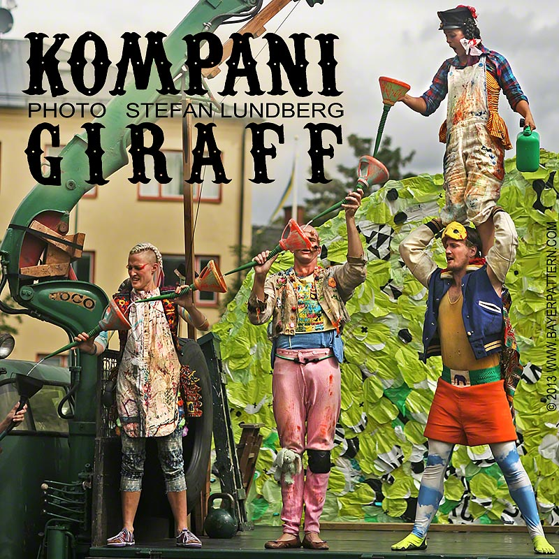 Kompani Giraff 2013 a cooperation between Riksteatern and Folkets Hus och Parker.