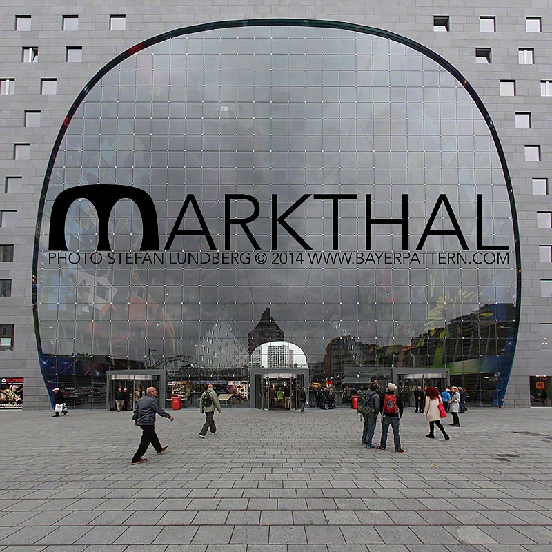 Markthal, Rotterdams new food market.